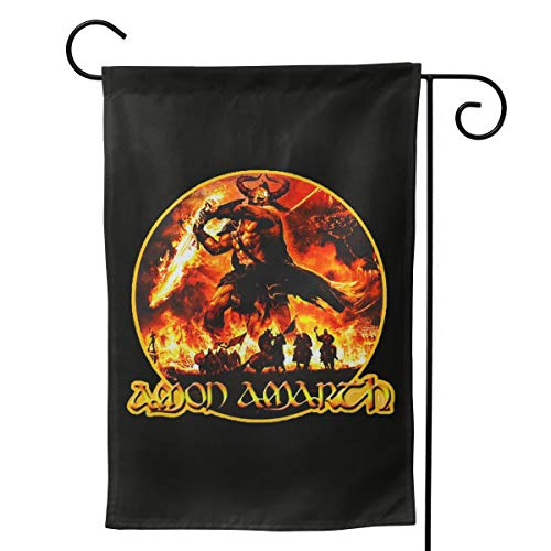 - LIKUNMIN Amon Amarth Seasonal Garden Flags 27