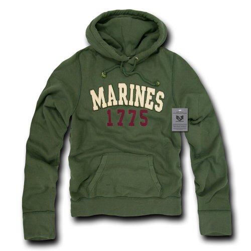(Rapiddominance Marines Standard Pullover, Olive, Small)