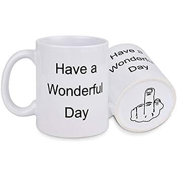 Amazon.com: Taza de café divertida con el texto en inglés ...