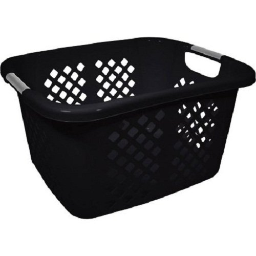 Diamond Pattern Laundry Basket Large Capacity Plastic