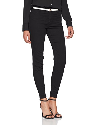Skinny Look Negro In Vaqueros para Lead Mujer New Black OHvqxgwO