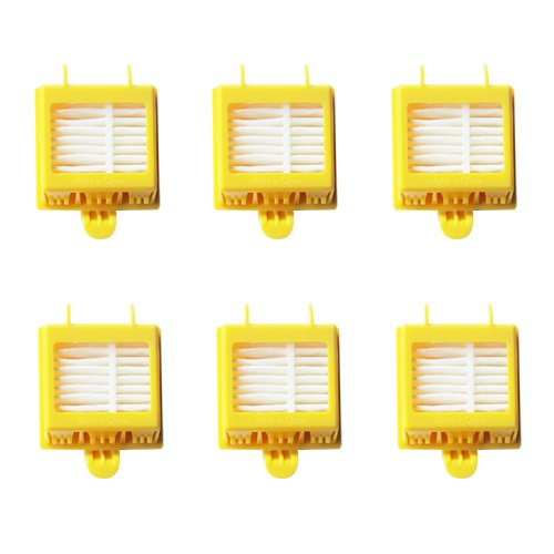 Amyehouse Hepa Filter Accessory Kit Replenishment for iRobot Roomba 700 Series 760 770 780 790 Including 6 Filters -Fully Compatible