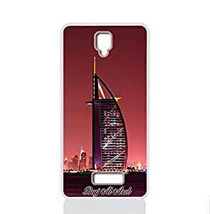 IMPRESS LENOVO A 2010 Hard Case with Burj Al Arab Design