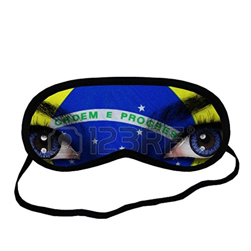 [Generic For Sleeping Mask Man Only Cotton Fabric Printing Brazil] (Brazil Costume Male)