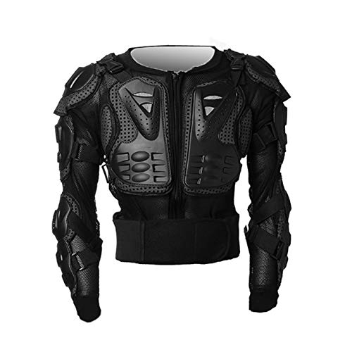 Motocross Dirt Bike Full Body Armour Jacket Chest Shoulder Elbow Plastic Coverage Quad Motorcycle Protect Suit