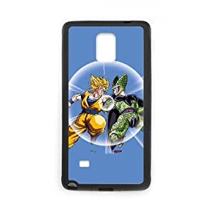 Dragon Ball Z Goku & Cell Samsung Galaxy Note 4 Cell Phone Case Black phone component AU_533184
