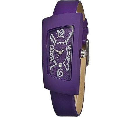 crayo-womens-cr0406-angles-leather-watch-purple-standard