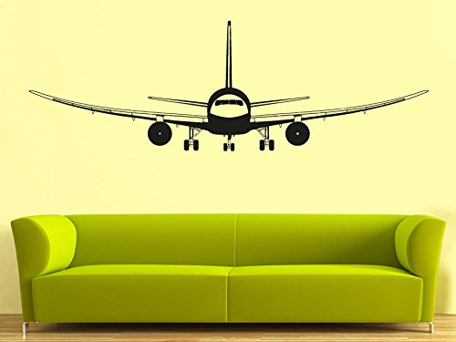 CreativeWallDecals Wall Decal Vinyl Sticker Decals Art Decor Design Airplane Military War Air Aviation Sky Attack Man Boys Bedroom Living Room Nursery(r838)