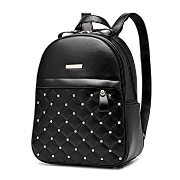 Amazon Com Cute Mini Leather Backpack Fashion Small Daypacks Purse