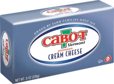 Cabot Vermont Premium Cream Cheese 8oz Box x pcs (Total 16 oz)