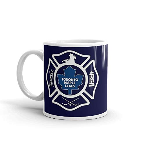 Maple Toronto Leafs Travel Mug (Toronto Fire - Maple Leafs style 11 Oz Ceramic)