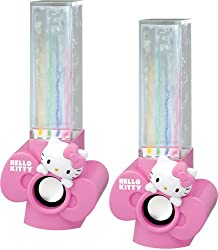 Hello Kitty Kt4040 Usb-powered Water-dancing Speakers