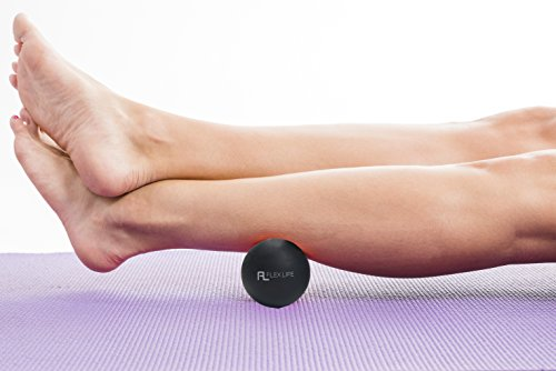 Flex Life Massage Ball Set & Muscle Roller Stick Massager - 2 Spiky Ball, 1 Lacrosse Ball, 1 Peanut Ball, (1) 18'' Roller Stick. Great Rollers For Plantar Fasciitis, Mobility, Recovery, Soreness by Flex Life (Image #8)