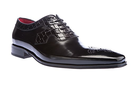 Scarpa Jeffery West Scarface K106 In Vitello Nero