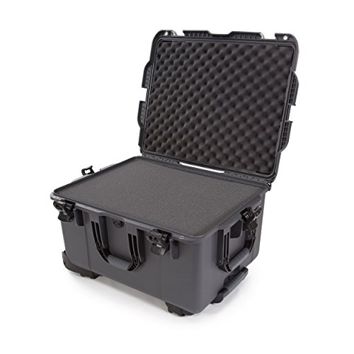 Nanuk 960 Waterproof Hard Case with Wheels and Foam Insert - Graphite