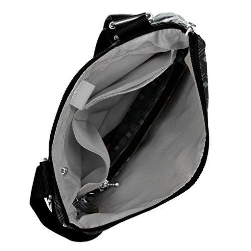 Bundle Resistant Horizon Water Crossbody Diamond Purse Print Black Light Wristlet Baggallini xAPUq0wZZ