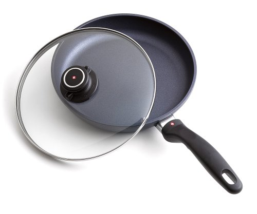 8 inch fry pan with lid - 7