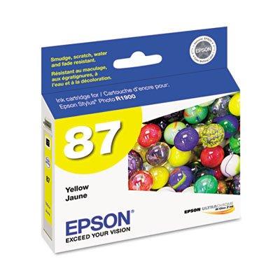 Epson UltraChrome Hi-Gloss 2 Pigment Yellow Ink Cartridge (T087420) ()