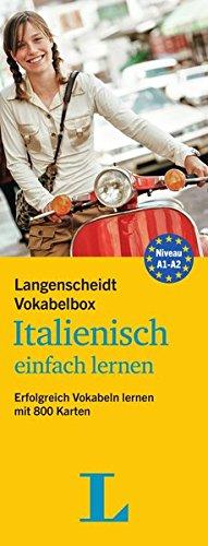 Langenscheidt Vokabelbox Italienisch Einfach Lernen   Box Mit Karteikarten  Erfolgreich Vokabeln Lernen Mit 800 Karten  Langenscheidt Vokabelbox Einfach Lernen