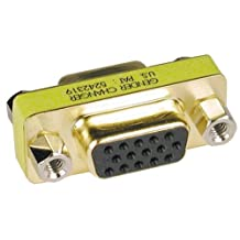 Compact / Slimline Vga Video Coupler Gender Changer (F/F)