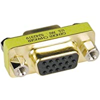 Tripp Lite Compact / Slimline VGA Video Coupler Gender Changer (F/F) (P160-000)