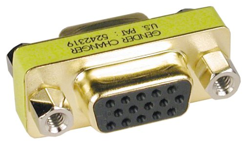 Tripp Lite Compact / Slimline VGA Video Coupler Gender Changer (F/F) (P160-000)