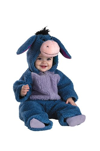 Eeyore Costume Baby (Eeyore Plush Infant Halloween Costume: (Size 3-12mos))