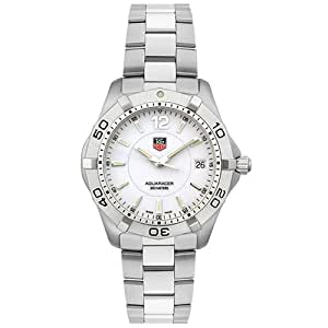 TAG Heuer Men's WAF1111.BA0801 White Aquaracer Watch
