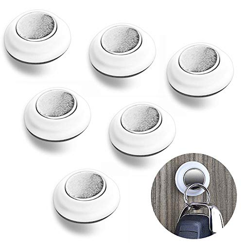 s Magnetic Magnets Key Holder Rack With 4X Adhesive 3M Tapes ()