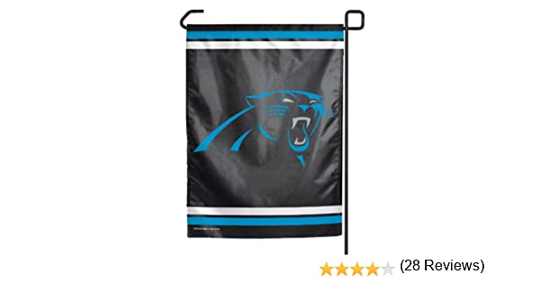 Amazoncom NFL Carolina Panthers Garden Flag Sports Fan