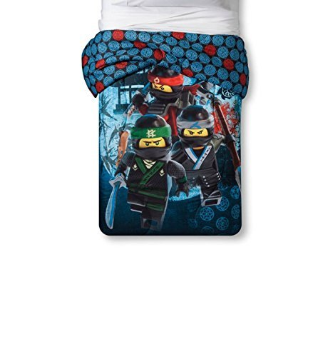 Lego The Ninjago Movie Bedding Set (Comforter and Sheets)