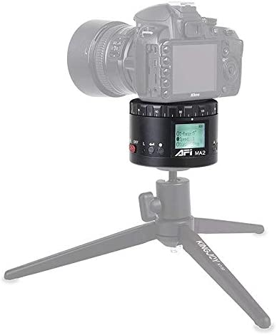 カメラアクセサリー タイムラプス撮影付き一眼レフ&デジタルカメラ用MA2 360度回転遅延スター撮影液晶カメラマウント (色 :
