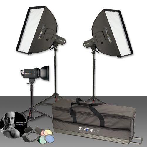 Photo Basics 231 Strobelite Plus Three Light Kit ()
