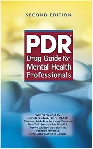 Pdf] download pdr drug guide for mental health professionals ebook.
