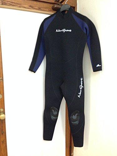 Medium 7/5mm Men's NeoSport by Henderson Full One Piece Scuba Diving Wetsuit Dive Diver Wet Suit Authorized Dealer Full Warranty, MEDIUM ()