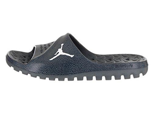 Jordanien Nike Mens Super.fly Laget Slide 2 Grpc Sandal Arsenal Marin / Vit Blåräv