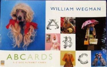 William Wegman ABCards, A-Z Dog Alphabet ()