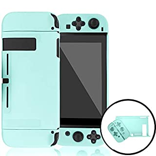 Dockable Case Compatible with Nintendo Switch,Protective Cover Case Compatible with Nintendo Switch and Joy-Con Controllers(Blue)