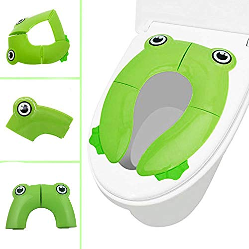 Euone  Seat Cover Clearance , Portable Folding Non Slip Pads Potty Training Seat Kids Cartoon Toilet Seat Potty Seat Cover