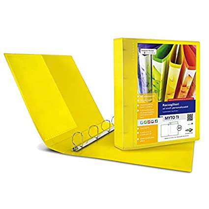 Archivador Myto TI 30 A4 4D 22 x 30 cm amarillo ...