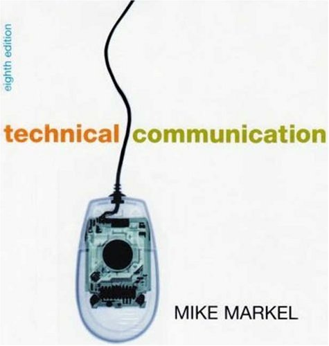 Technical Communication 8e & Document Based Cases for Technical Communication