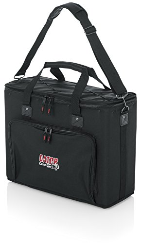 Gator Cases Portable 4U Rack Bag with 14 Rackable Depth; (GRB-4U)