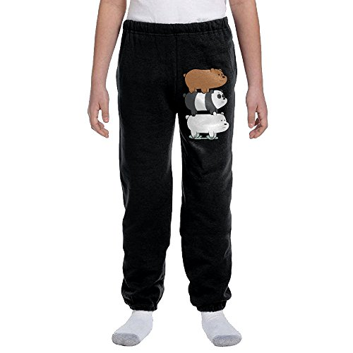 (We Bare Bears Youth NuBlend Preshrunk Cotton Sweatpants)