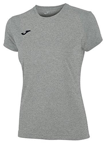 Joma Combi M/C, Camiseta para Mujer, Gris, 2XS
