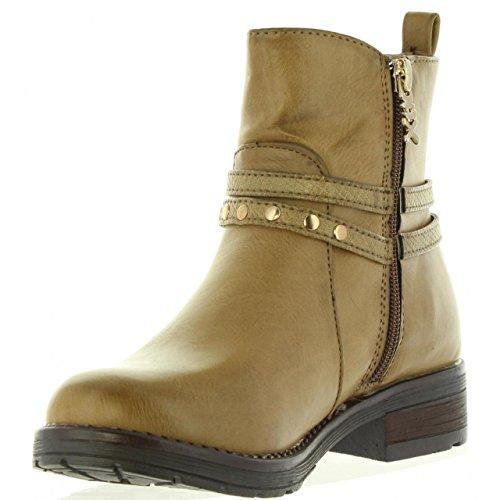 XTI Stivali per Donna e Bambina 53970 C Taupe