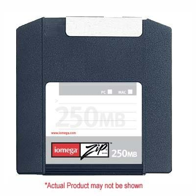 Iomega 6PK ZIP 250MB 6PK SLEEVE PC/MAC ( 32631 ) by Iomega