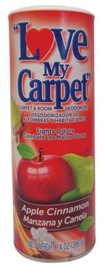 Love Apple - Love My Carpet Carpet & Room Deodorizer, Apple Cinnamon 14 oz. (2 Pack)