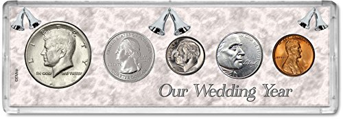 2005 Year Coin Set : 14th Anniversary Gift - Our Wedding Year -
