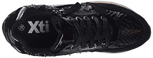 Xti negro Pantofole 48262 A Stivaletto Donna Nero Negro 88ZHqr