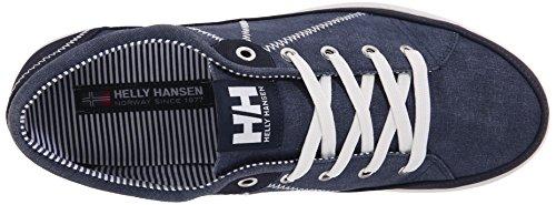 Helly Hansen Homme Latitude 92 Turnschuhe Azul / Blanco (597 Marine Hors Gu Pale De Blanc)